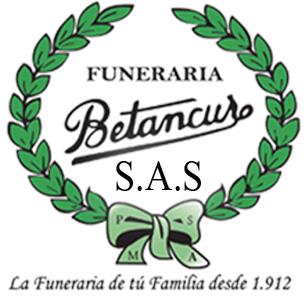 En Medellin servicios funerarios de la funeraria Betancur logotipo cubrimos ultimos gastos